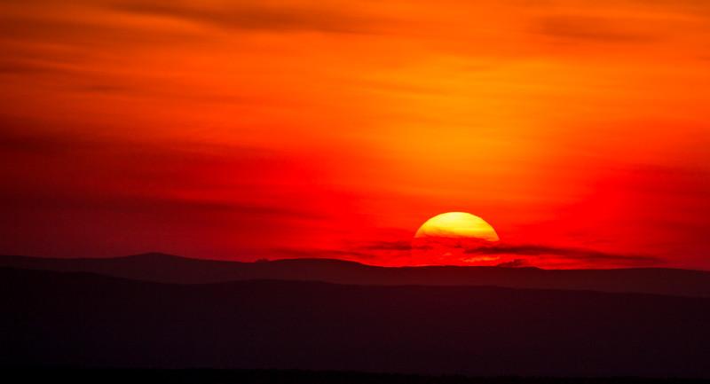 Sunset on Shenandoah