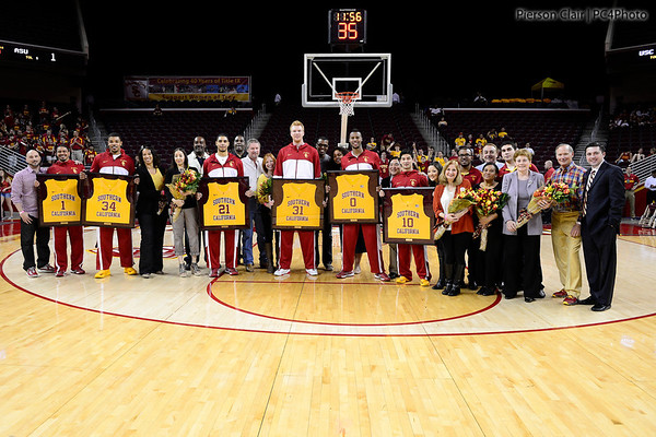 Men's Basketball v ASU 2013 - Senior Day
