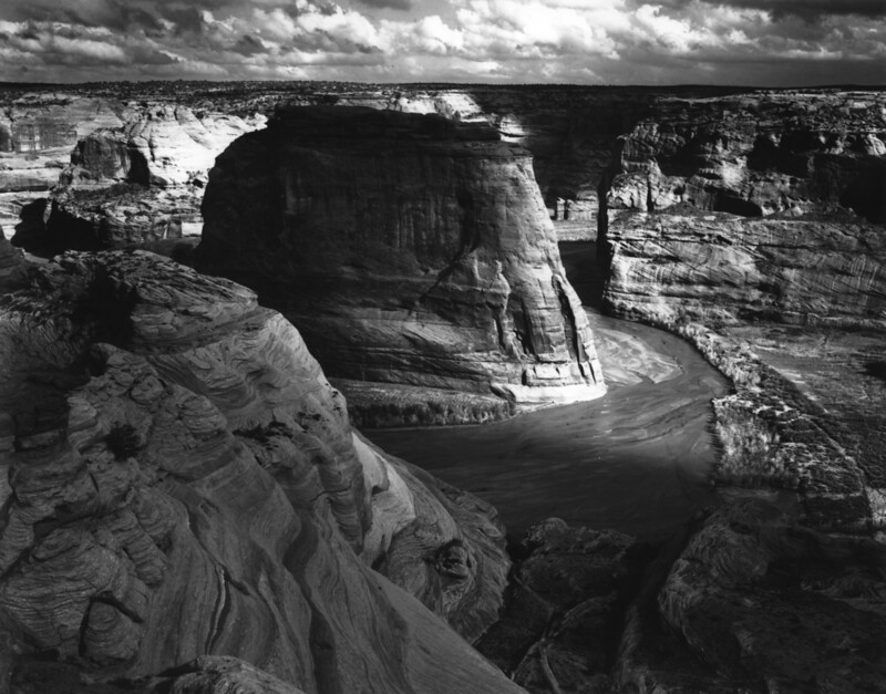 Famous Landscape Photographers - Ansel Adams Canyon de Shelly