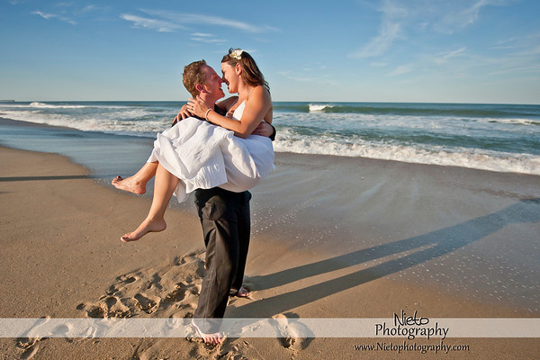 Emily and Dustin - Sept 4 2010 - Kill Devil Hills