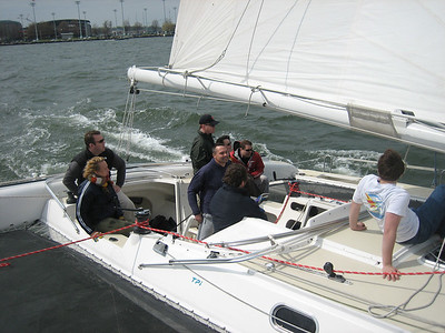 First sail of 2007