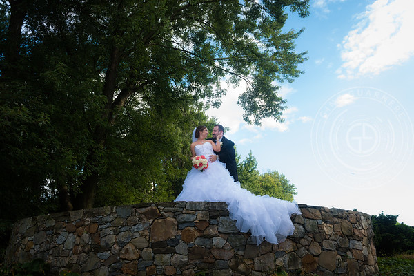 Brandi and Kevin's Downingtown Country Club Wedding by Gino Guarnere