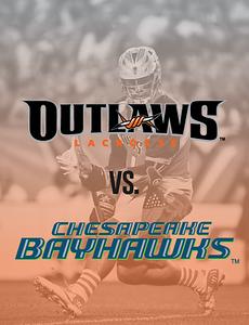 Bayhawks @ Outlaws (7/27/17)