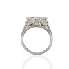 1.58ct Antique Marquise Cut Diamond AGS I, VS2 in Sebastien Barier Style B04 3