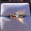 0.36ct Vintage Marquise Wedding Set 25