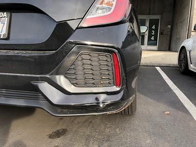 2018-11-12 Honda Civic Damage