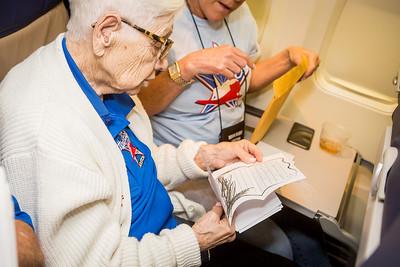 Honor Flight Houston - Return & Mail Call