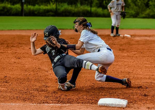 Creek Softball vs Calhoun 8-15-16
