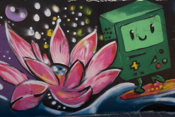Bondi Beach graffiti art