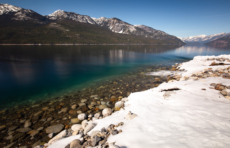 Lower Arrow Lakes Early Spring