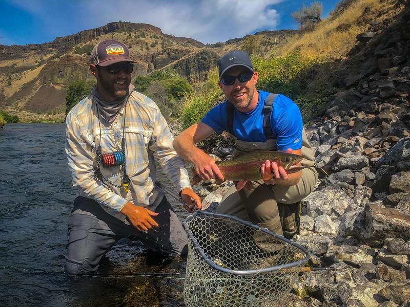 Riggott Trout Fishing Trip