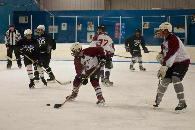 Belmont MA - 2011 Dally Cup Police-Fire Charity Hockey Game