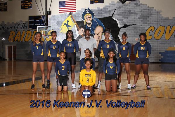 2016 Volleyball JV