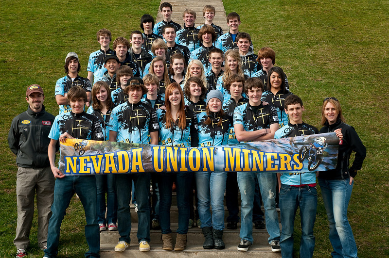 Nevada Union Miners MTB Team