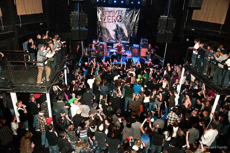Authority Zero Summit Music Hall Denver, CO April 20, 2011
