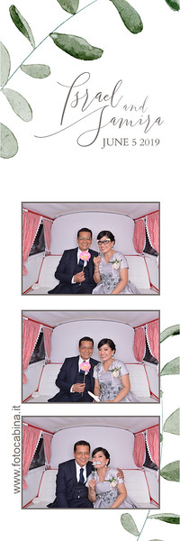 Photo booth con Selfiebus Samira e Israel -  5 giugno 2019 - photobooth matrimonio