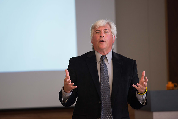 10/11/13 Professor Chris Shively Giving Emerging Scholar Lecture