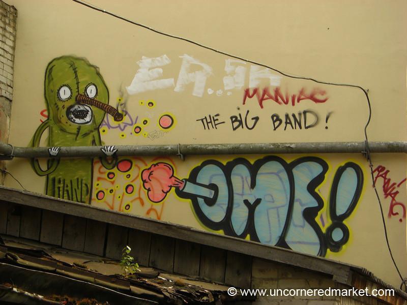 Vilnius Graffiti - Lithuania