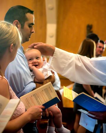 George Baptism 9/2015