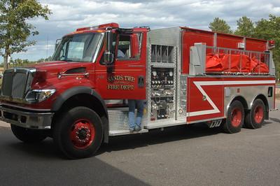Sands Township Fire Dept. New Tanker 2005