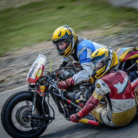 2015 Classic Sidecars at Loudon
