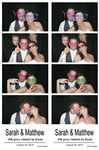 Sarah & Matthew August 30, 2014