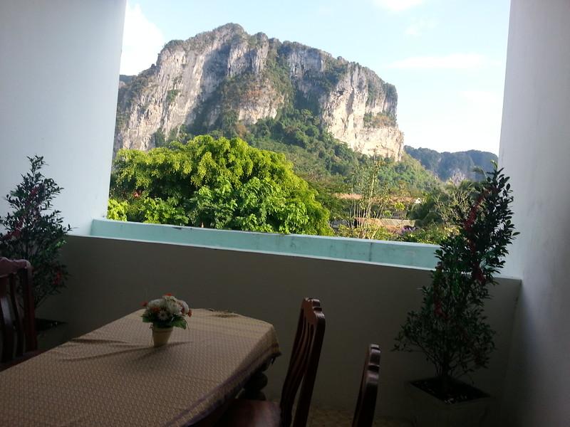 Ao Noang Hotel Room View