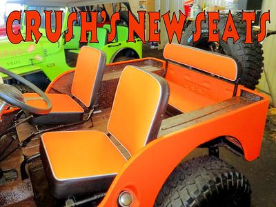 CRUSH'S NEW SEATS
