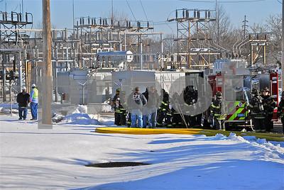 EFD Transformer Fire 2-10-2011