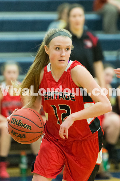 Girls Basketball: Heritage vs. Loudoun County 1.17.15 (by Chas Sumser)