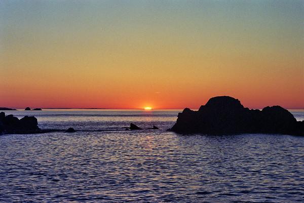 Summer Solstice Sunrise, Lubec, Maine<br /> June 21, 2004