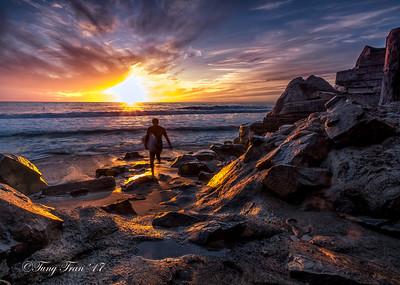 San Clemente Sunset 11-10-2017