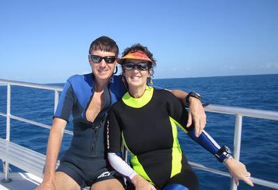 Dive/Cayman Salvager and Vandenberg Wrecks/Key West/FL - Nov., 2011