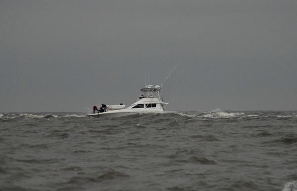 Offshore Little Cumberland Island 01-18-07