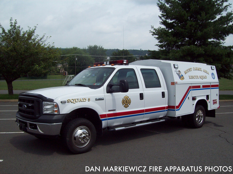 MOUNT CARMEL AREA RESCUE SQUAD SQUAD 5 2006 FORD/STAHL LIGHT RESCUE
