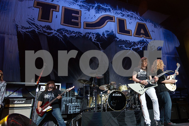 Tesla In Concert - Los Angeles, Calif