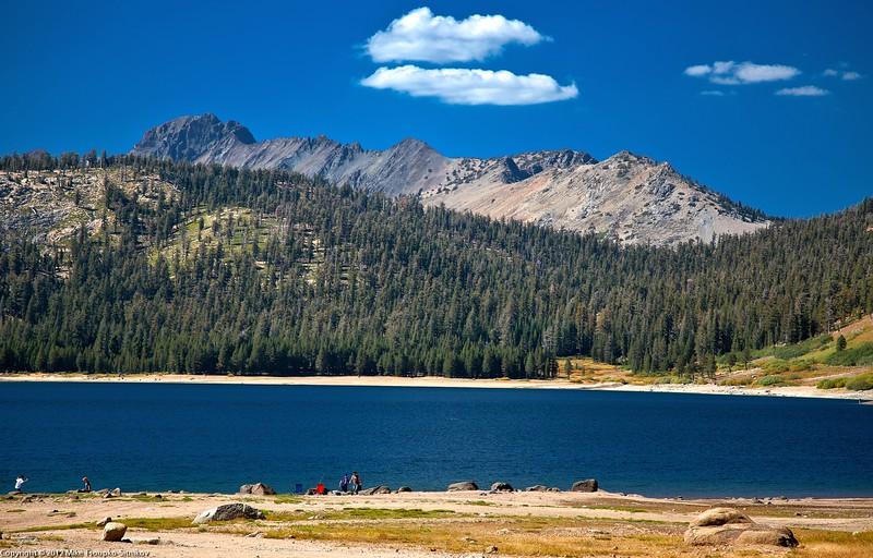 Grouse Lake Trail. Upper Blue Lake