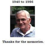 Grandpa Buddy's Slides -- 1940 to 1986