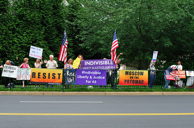 Indivisible District 10 Ashburn/Sterling PGA Protest