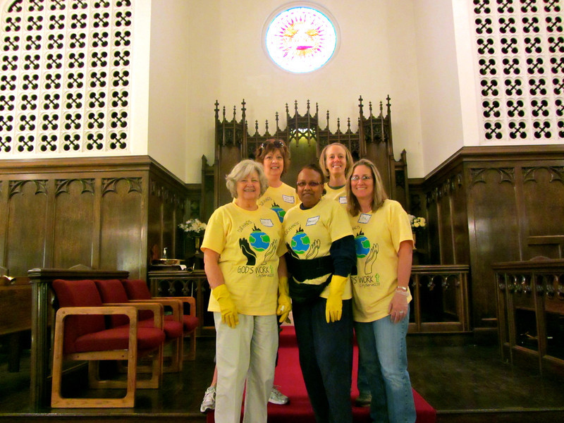 CitySERVE 2013  - Location: Calvary Lutheran Church.  