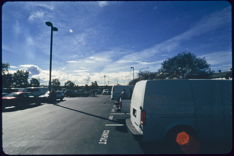 Day laborers at The Home Depot parking lot, Alhambra, 2005