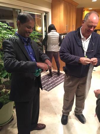 Cardiology Team Celebration with Dr. Chakka (Nov. 2016)