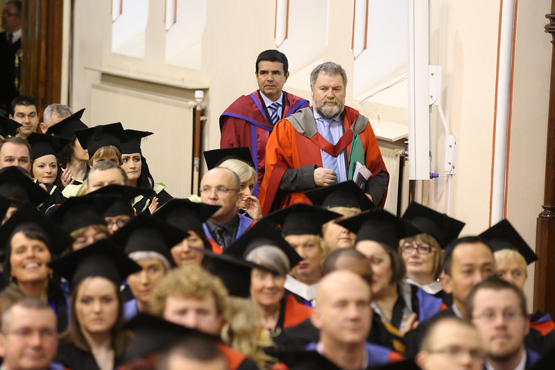 Pictured is Paulo Marcio Da Silva Melo who was conferred a Doctor of Philosophy also pictured is Dr Bill O'Gorman, Supervisor. Picture: Patrick Browne.