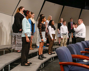 National Honor Society Induction 12/8/14