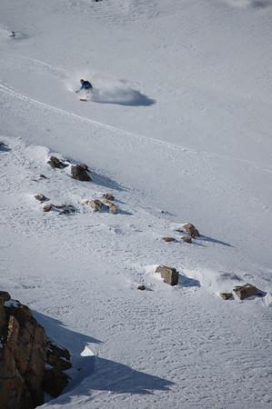 Berthoud Pass Skiing 1/19/2009
