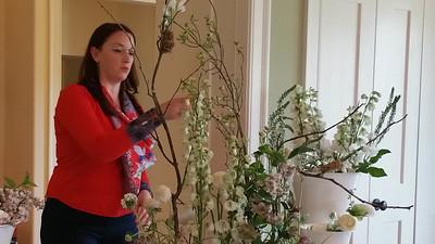 Elizabeth Hemphill Floral Design Demonstration
