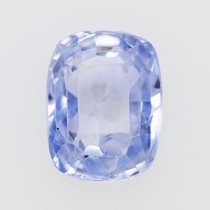 2.36 Post-consumer sapphire, light blue cushion (PCS-1224)