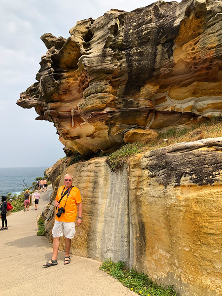 Bondi Beach to Coogee walk, Sidney, Australia - 2020