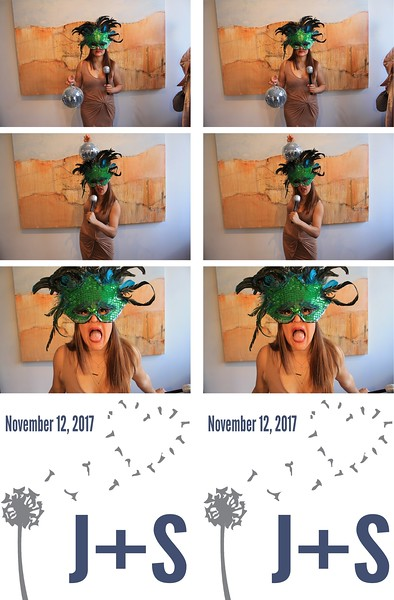 Joanne & Shandra Wedding 11.12.17 - Photo Strips