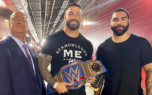 Roman Reigns - Candid Photos / Wrestlemania 2021